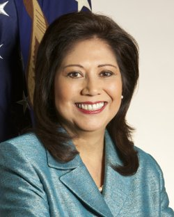Secretary of Labor Hilda Solis just announced her retirement, leaving just on...