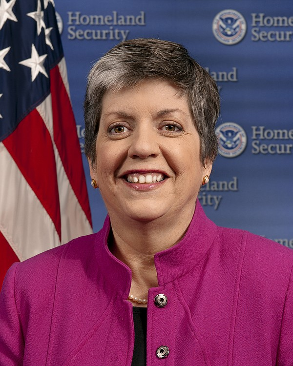 Department of Homeland Security Secretary Janet Napolitano
