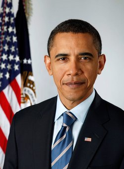 Official portrait of President Barack Obama, the 44th President of the United...