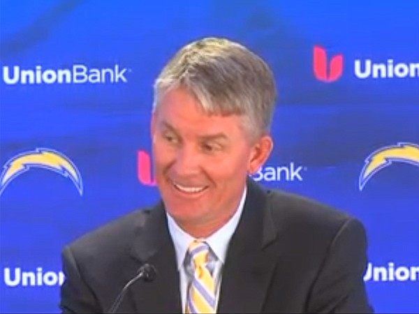 Mike McCoy, the head coach of the San Diego Chargers.