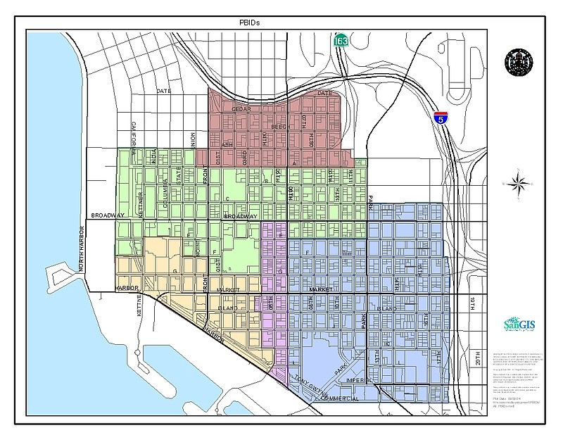 San Diego Map Of Neighborhoods.Despite Promises Downtown San Diego Residents Have Not Yet Been