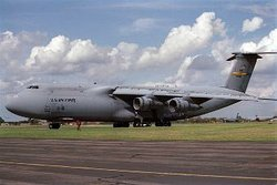 An Air Force C-5 Galaxy