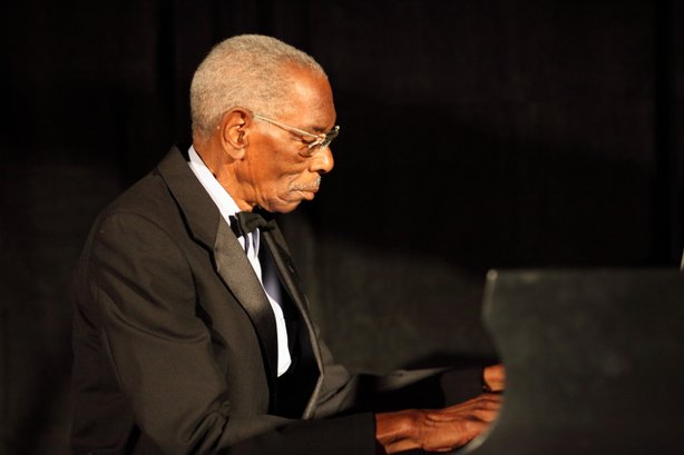 Jackson taught himself to play piano. In addition to playing concerts, he's played at Croce's Jazz Bar in downtown San Diego for thirty years.