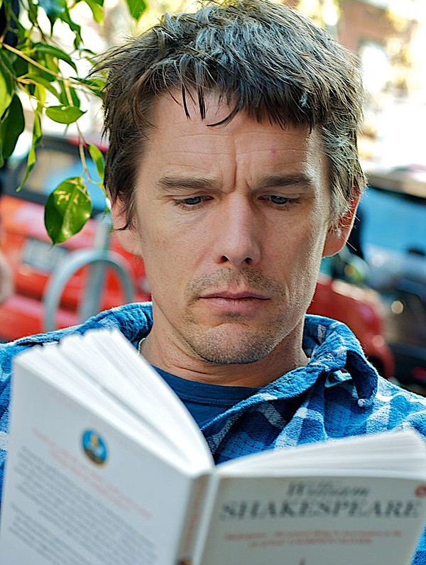 Ethan Hawke reading Shakespeare.