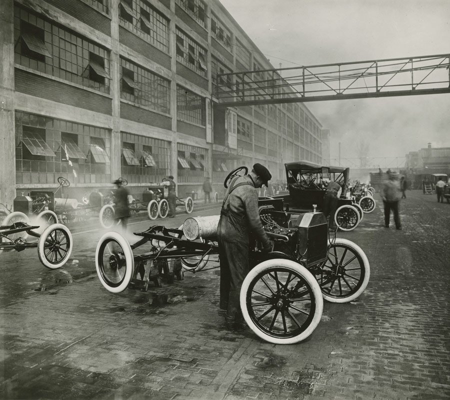 Highland Park Ford >> American Experience: Henry Ford (Photo Gallery)   KPBS