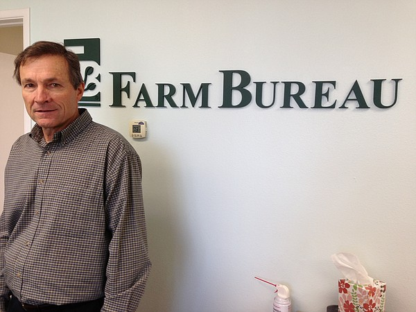 Eric Larson directs the San Diego County Farm Bureau. He ...