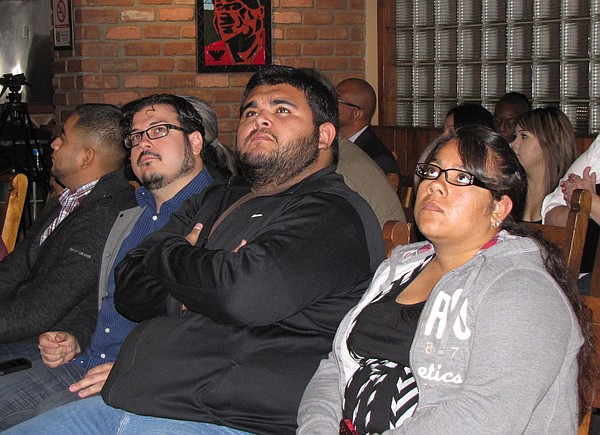 A Phoenix crowd favoring immigration reform took in President Barack Obama's ...