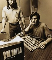 Woz (Steve Wozniak), programmer and co-founder of Apple and Steve Jobs.