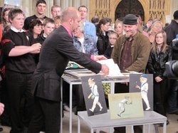Miscellaneous specialist Marc Allum examines caricatures done by an amateur.