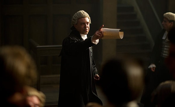 Andrew Buchan stars as pioneering 18th century barrister ...