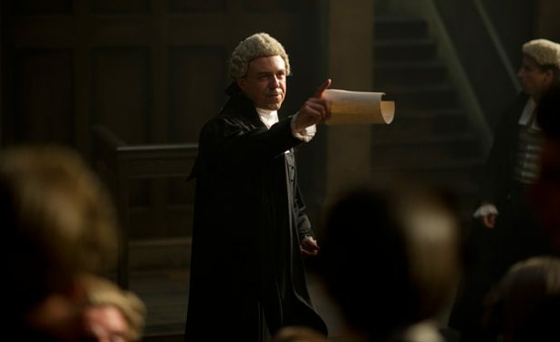 Andrew Buchan stars as pioneering 18th century barrister William Garrow in the series, GARROW'S LAW.