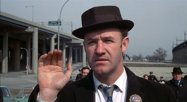 "Gene Hackman won an Oscar for playing Jimmy ""Popeye"" Doyle in the 1971 film ""The French Connection."""