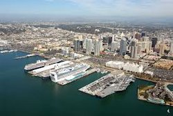 The Port of San Diego.