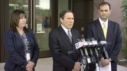 Prosecutor Phillip Halpern during press conference