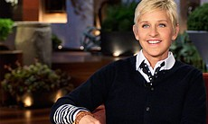 Ellen DeGeneres, first comedian to come out of the closet and represent homos...