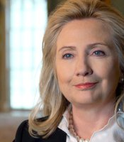 Hilary Clinton, first female major party presidential candidate, U.S. Secretary of State, as well as a pioneering and controversial former First Lady.