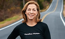 Kathrine Switzer, first woman to officially run in the once all-male Boston m...