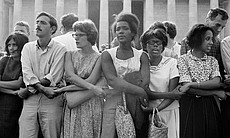 The March on Washington. Washington, D.C., August 28, 1963. The Women's Movem...