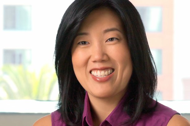 Michelle Rhee, former Chancellor of Washington, D.C., public schools who brought education reform to the national stage, now founder and CEO of non-profit advocacy group StudentsFirst.