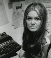 Gloria Steinem, writer, lecturer, editor, and feminist activist. In 1972, she co-founded Ms. Magazine, which became a landmark institution for women's rights.