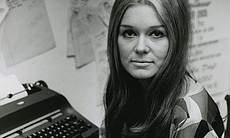 Gloria Steinem, writer, lecturer, editor, and feminist activist. In 1972, she...