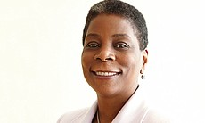 Ursula Burns, CEO of Xerox, and the first African-American woman to run a For...