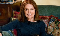 Gloria Steinem, iconic American feminist, and the popular face of the women's movement.