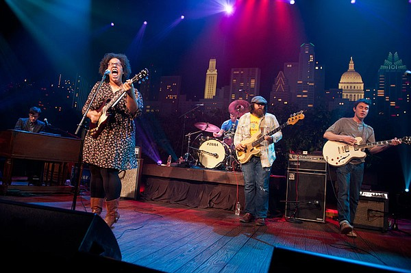 The Alabama Shakes spotlight their critically acclaimed