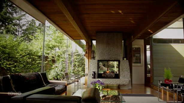 The Smith House, designed by Erickson/Massey Architects and built in 1965,  i...