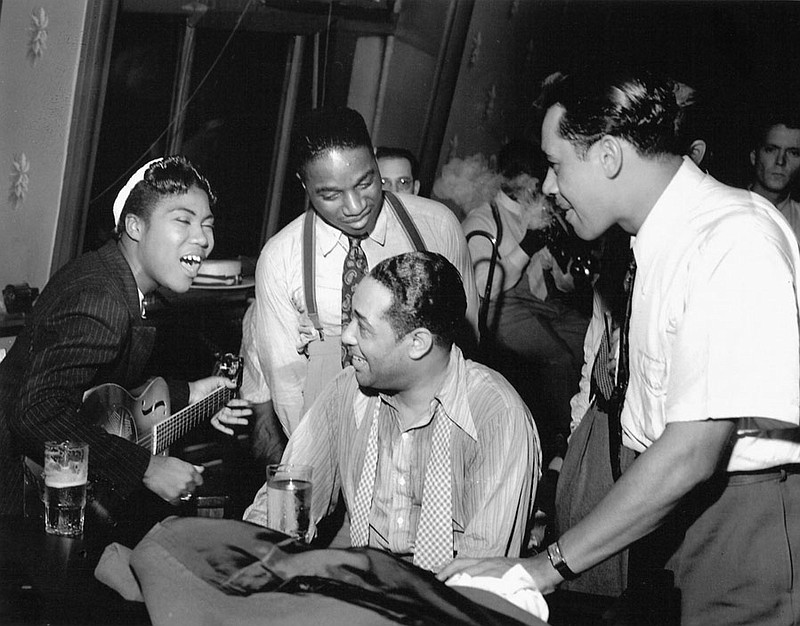 Sister Rosetta Tharpe with Duke Ellington (at p... ()