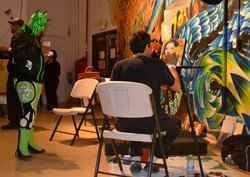 The HeART of Loteria show is at San Diego's Centro Cultural de la Raza.