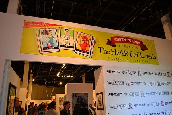 The HeART of Loteria is on display at San Diego's Centro Cultural de la Raza.