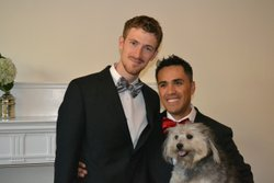 William Wood and Jesus Rodriguez married recently with the hope that a change...