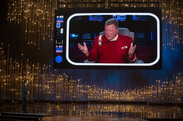 William Shatner on the Oscars!