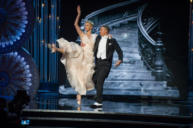 Charlize Theron and Channing Tatum making us miss Cyd Charisse and Gene Kelly.
