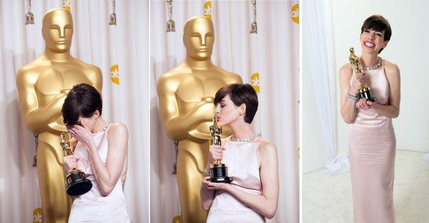 "Anne Hathaway's win for ""Les Miserables"" irked me the most."