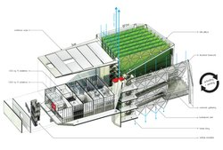 Martella says vertical crops can grow food hydroponically supporting the grea...