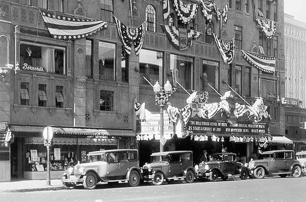 In 1929, two years after its grand opening, the Californi...