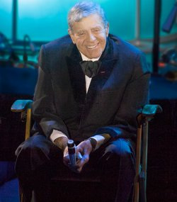 Jerry Lewis tells stories of his eight-decade career through narrative and mu...