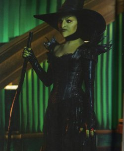 Kunis as the new, improved and super leathery, Wicked Witch of the West.