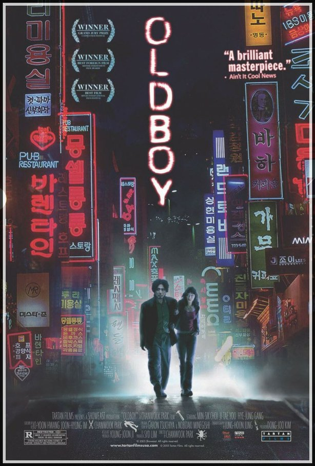 "The poster for ""Oldboy."""