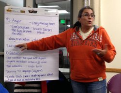 Carmen Chavez and other San Diego residents are gearing up to campaign in sup...