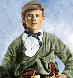 A kid in appearance, but a warrior in spirit, 16-year-old Jesse James (pictur...