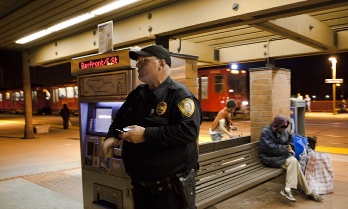 Transit Cop Quits Over Security Concerns | KPBS