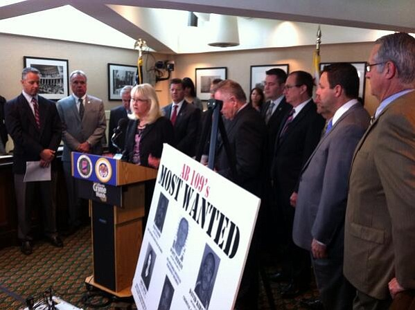 Republican state lawmakers criticize Calif. Gov. Jerry Br...