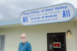 Fred Bauermeister, executive director of the Free Clinic of Simi Valley, a Ca...