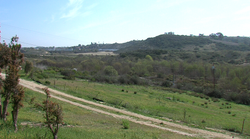 The site of the Quarry Creek development in Carlsbad. It is beside Highway 78...