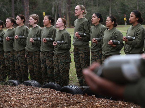 When the Pentagon said earlier this year that it would open ground combat jobs to women, it was cast in terms of giving women equal opportunities in the workplace — the military workplace.