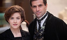 Aisling Loftus as Agnes and Gregory Fitoussi as Henri.