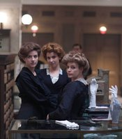 Left to Right: Aisling Loftus as Agnes, Amy Beth Hayes as Kitty and Lauren Crace as Doris.